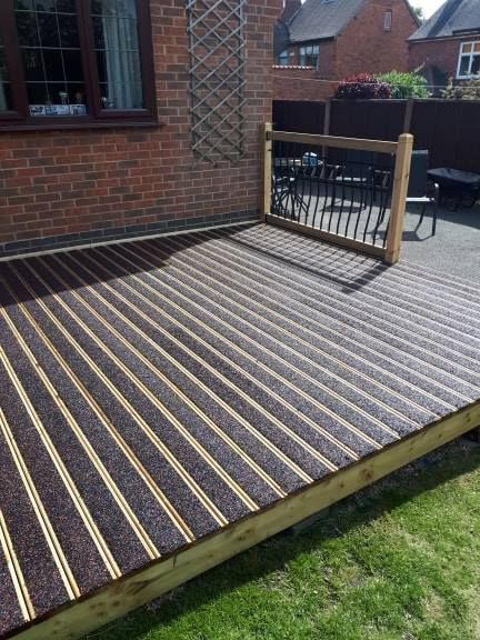 Completed decking project.: Swipe To View More Images