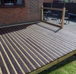 Completed decking project.: Click Here To View Larger Image